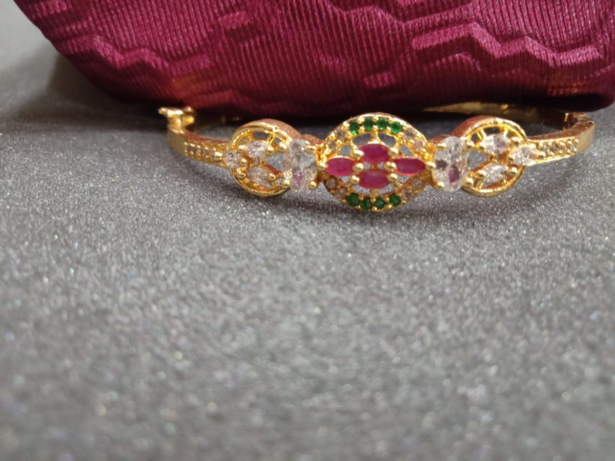 Gold Bracelet Online Shopping One Gram Gold