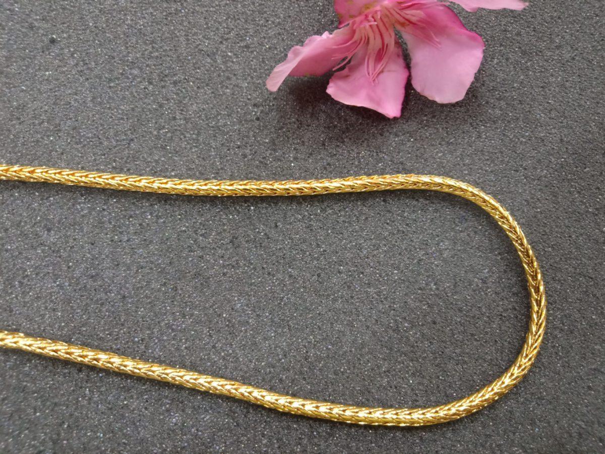 Kerala Long Chain Designs One Gram Gold