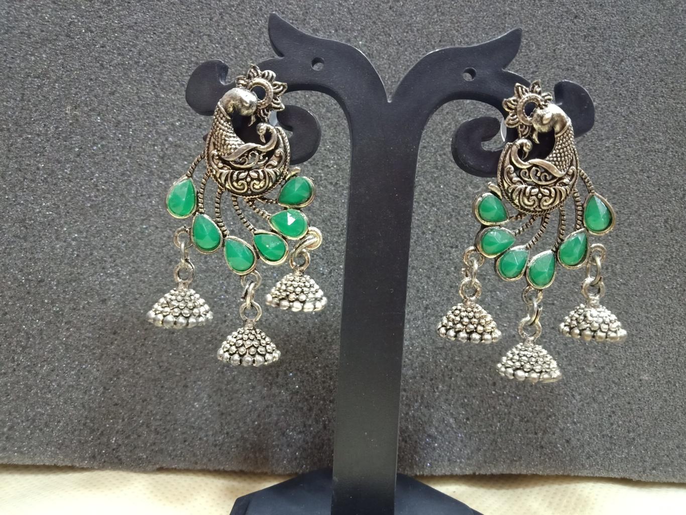 cheapest oxidised jewellery online jhumka