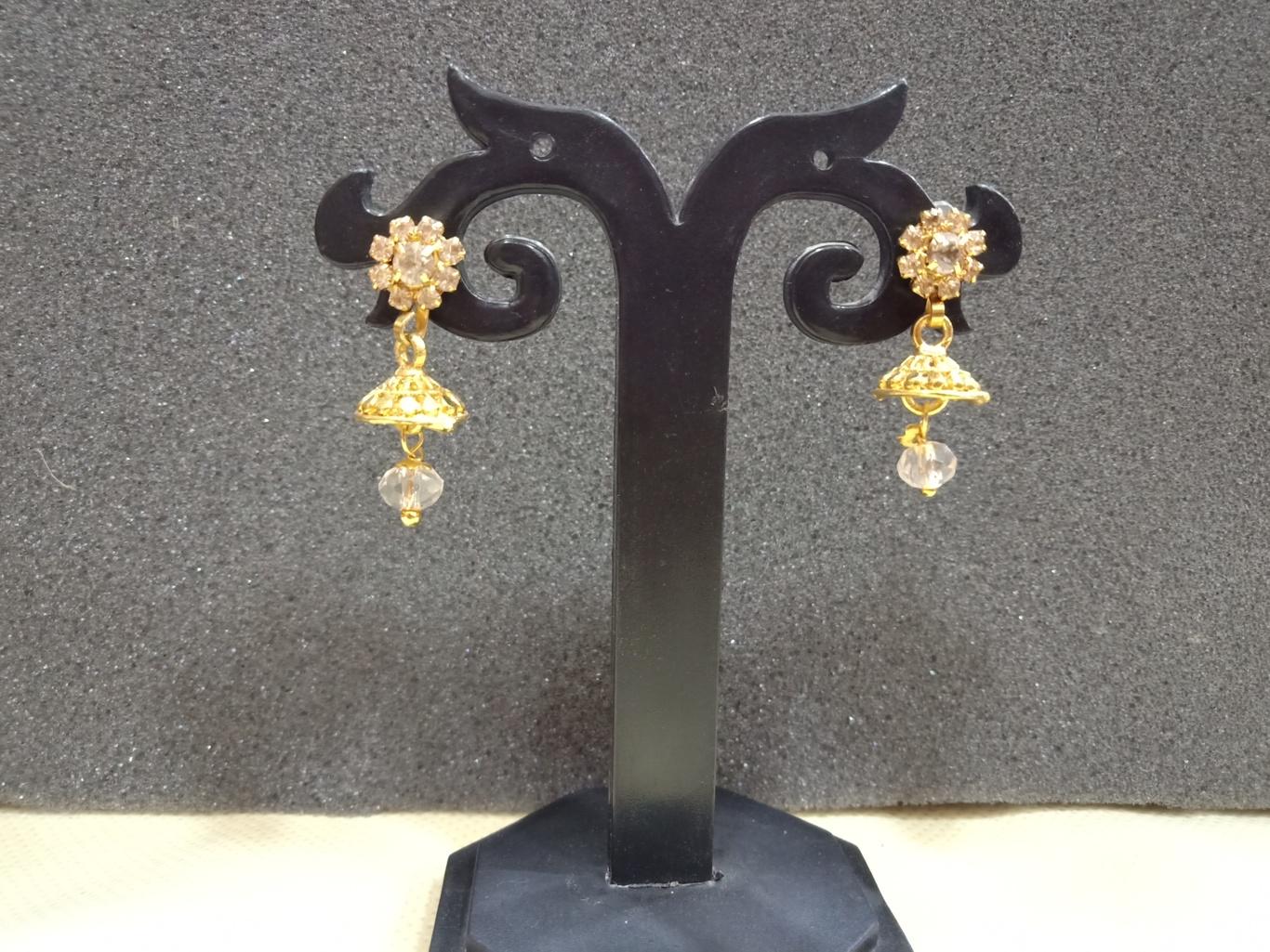 small jhumka earrings for kids online