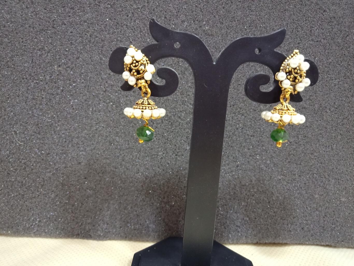 chennai jhumka earrings under 100