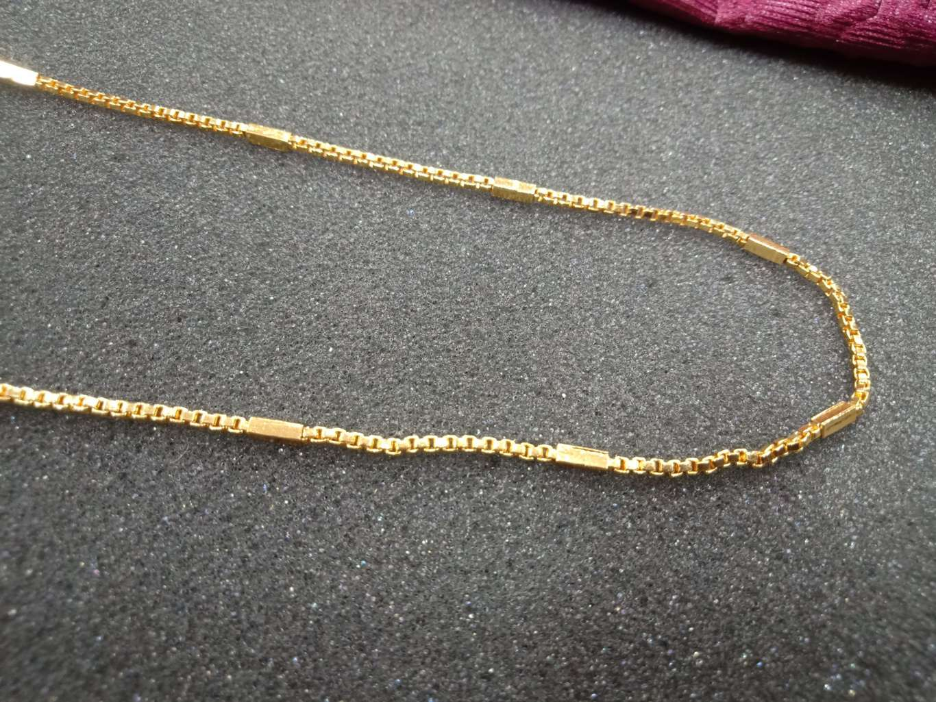 mens chain 1 gram gold online with price