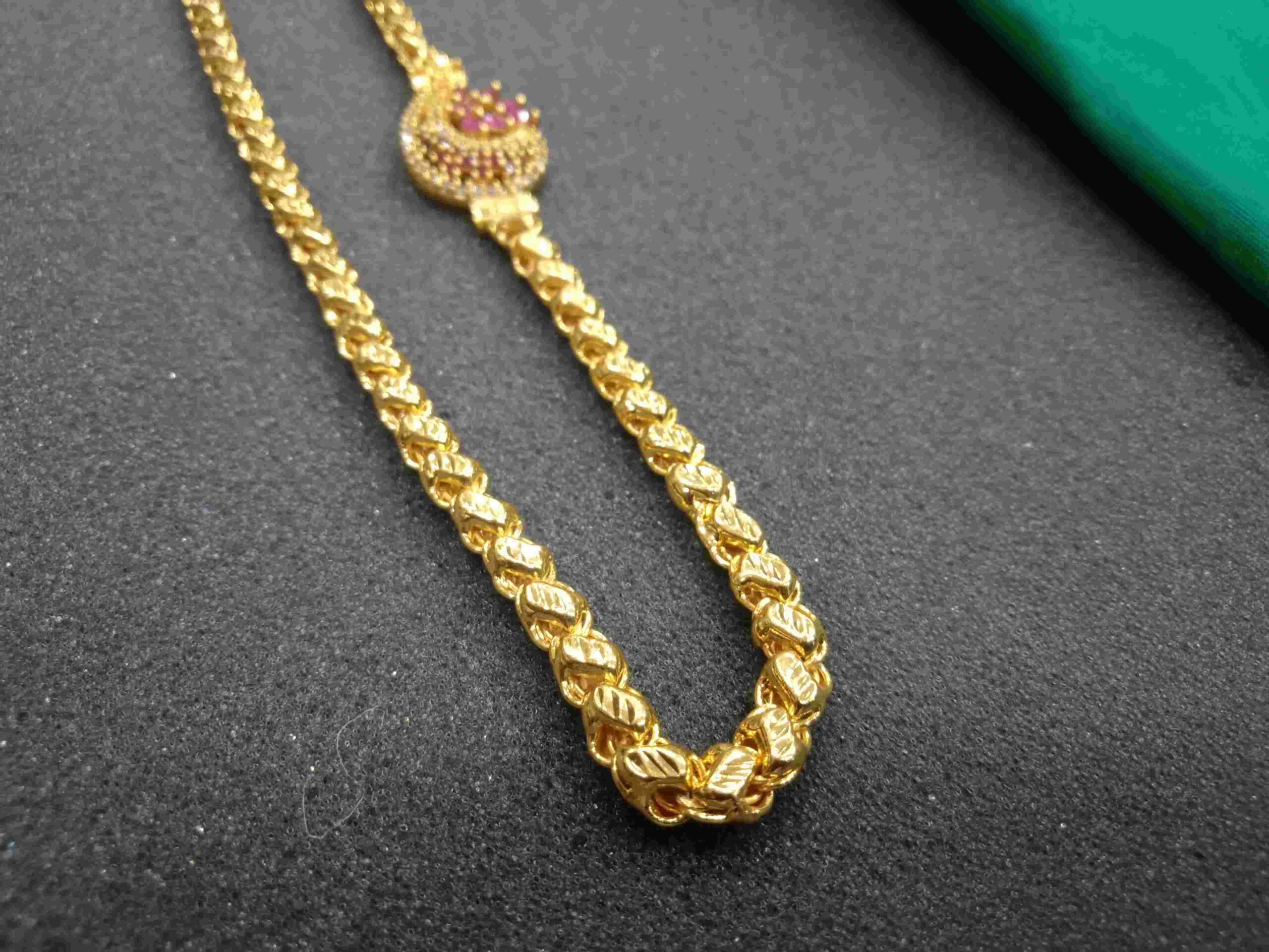 1 gram gold jewellery wholesale one gram gold jewellery long chains 1 gram gold chain price in india